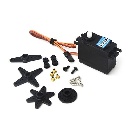 CYS-S3006 6Kg High Torque Analog Servo for RC Car Boat Airplane Helicopter RC Toys