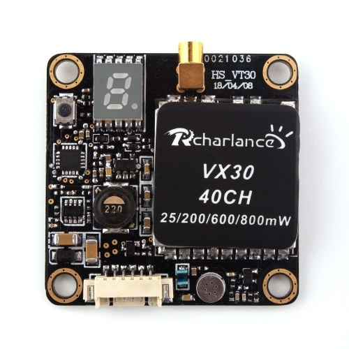 VX30 5.8G FPV 40CH 25mW/200mW/600mW/800mW Switchable Transmitter for RC Racing Quadcopter Drone