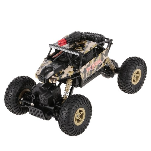 Wltoys 18428-A 1/18 2.4GHz 4WD RC Missile Car with 0.3MP Wifi FPV Camera Off-road Crawler RTR