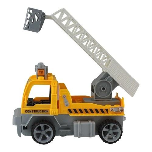 16 Stücke DIY Bausteine Auto 1/18 Infrarot Fernbedienung RC Auto Hubwagen Spielzeug Weihnachtsgeschenk für Kinder