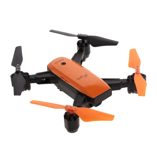 IDEA7 720 P Grand Angle Caméra Wifi FPV GPS Drone Altitude Tenir Pliable Quadcopter RC
