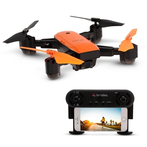 IDEA7 720P Wide Angle Camera Wifi FPV GPS Drone Altitude Hold Foldable RC Quadcopter