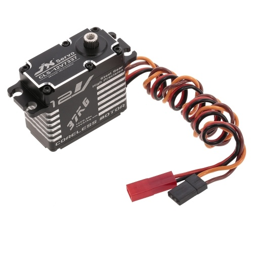 JX CLS-12V7337 37KG 12V Aluminium Digital Coreless Servo for RC Car Helicopter Boat Airplane