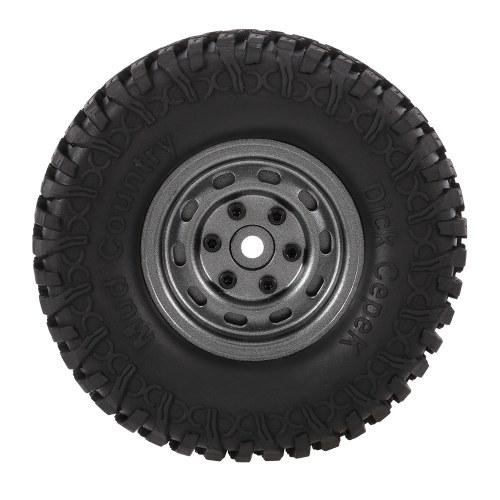 4pcs AUSTAR 3020 + 618GL 100 mm llantas de goma de llanta de 1.9 '' llantas Set para 1/10 HSP HPI Traxxas TRX-4 SCX10 RC4 D90 RC ruedas de roca