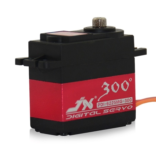 JX PDI-6225MG-300 25kg HV High Torque Metal Gear Digital Servo
