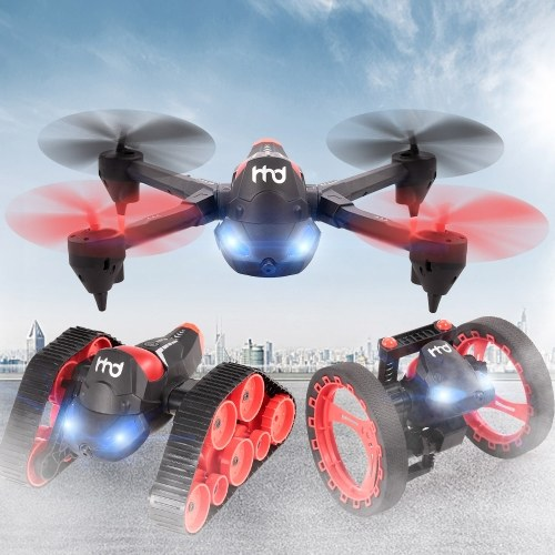 Drone di auto rimbalzante RC Bounce H3 2.4GHz 3 in 1 480P Wifi FPV