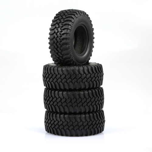 4PCS 100MM Rock Crawler Tyre