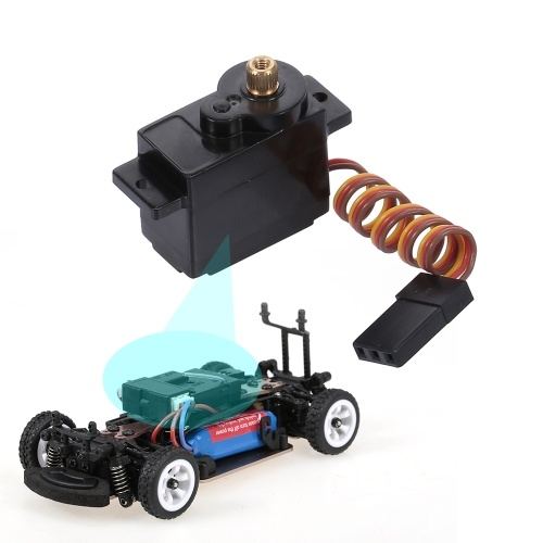 5g Digital Servo Car Servo High Torque Metal Gear per 1/28 WLtoys K989 RC Car
