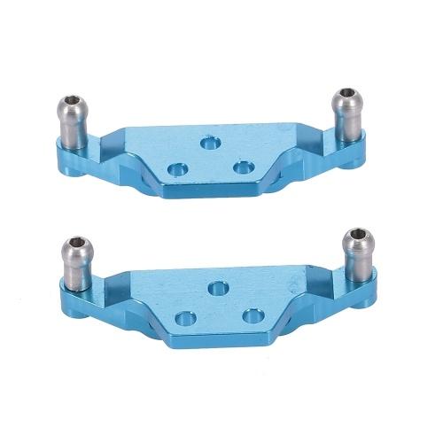 Pour WLtoys K979 K989 K999 2 pièces tour de choc en métal 1/28 remplacement de voiture RC 1:28 pièces de Buggy de course