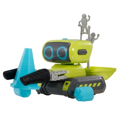 Programa de construcción de vehículos de ingeniería RC Abrazadera Coche Vehículo de juguete Carretilla elevadora Juguete Montaje de bricolaje Coche
