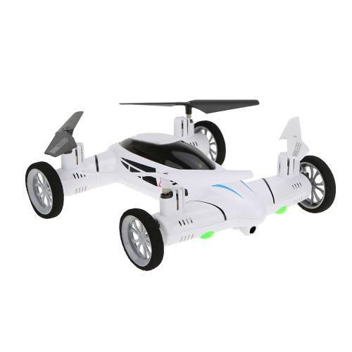 Оригинальный SY X25 2.4G 4CH 6-осевой гироскоп Air-Ground RC Летающий автомобиль без камеры 360 градусов Flips Auto Return Function