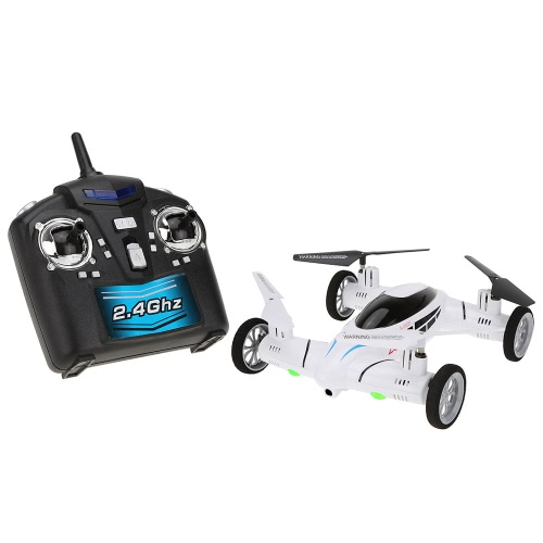 Original SY X25 2.4G 4CH 6-Axis Gyro Air-Ground RC Flying Car without Camera 360 Degree Flips Auto Return Function