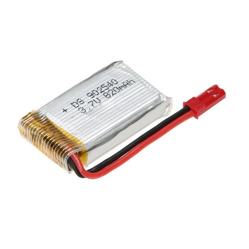 Batterie Lipo 3.7V 820mAh améliorée pour MJX X800 X300 RC Drone
