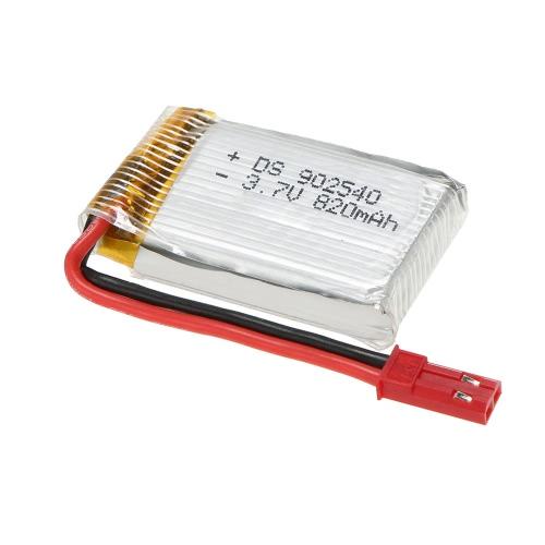 Actualizado 3.7V 820mAh Lipo batería para MJX X800 X300 RC aviones no tripulados