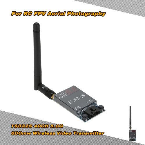 TS832S 40CH 5,8 G 600mw trasmettitore Video Wireless per la fotografia aerea FPV RC