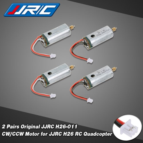 2 Pairs Original JJRC H26-011 CW/CCW Motor for JJRC H26 RC Quadcopter