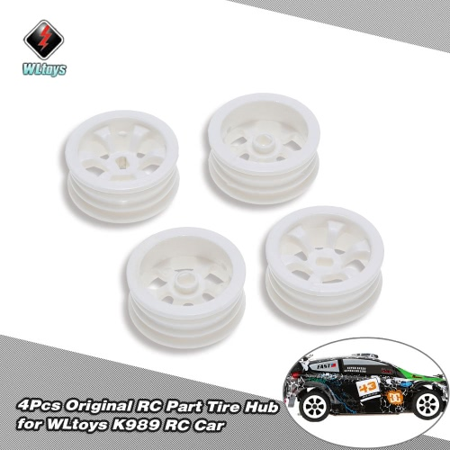 4Pcs Original WLtoys K989-49 Tire Hub for WLtoys K989 K979 1/28 Scale RC Car