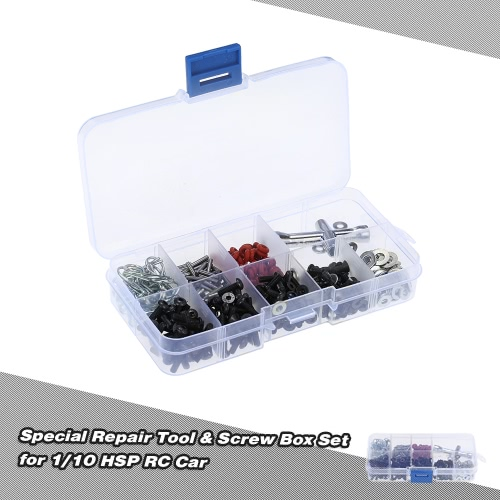 Spezielle Reparatur-Werkzeug und Schrauben Box Set für 10.01 HSP RC Car