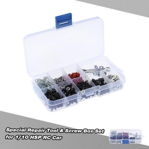 Repair Tool & Special Box Set viti per 1/10 HSP RC Auto