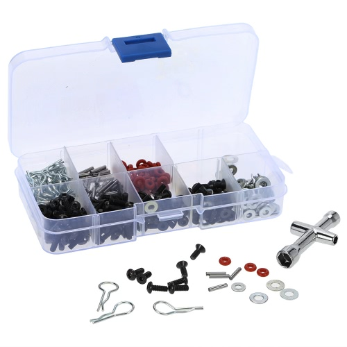 Special Repair Tool & Screws Box Set for 1/10 HSP RC Car