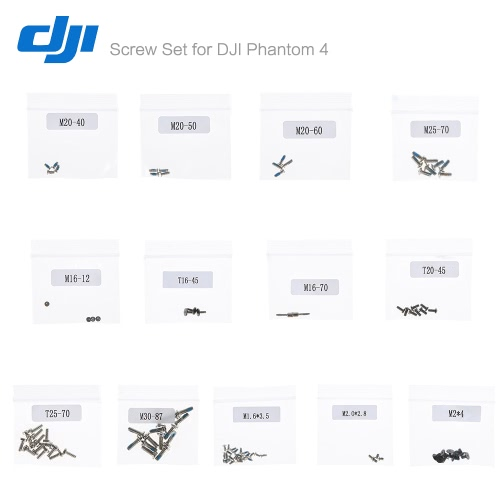 Original DJI Phantom 4 Part 33 Screw Set for DJI Phantom 4 RC FPV Quadcopter