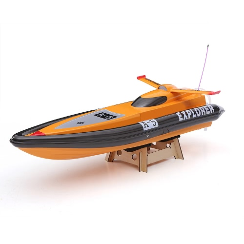 Original VANTEX Explorer 1300BP FS-GT2 2.4G Transmitter High Speed 60km/h Electric RC Racing Boat