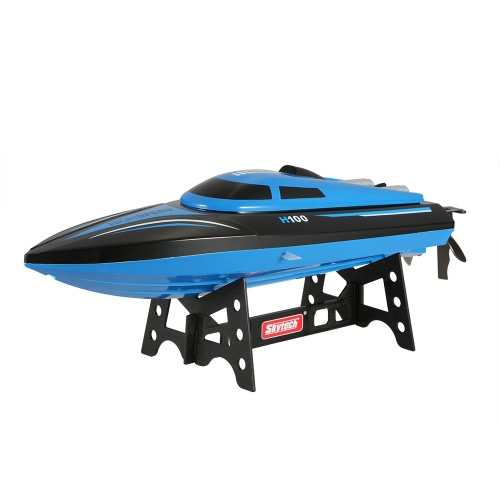 Original Skytech H100 2.4G Remote Controlled  180° Flip 20KM/H High Speed Electric RC Racing Boat