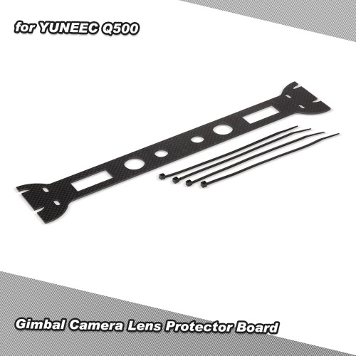 Full Carbon Fiber Gimbal Camera Landing Guard Protective Board for YUNEEC Q500 RC Quadcopter