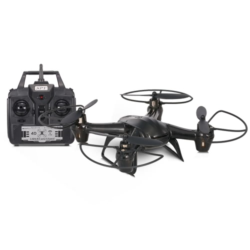 JDTOYS JD-03 2.4G 4CH 6-осевой гироскоп Mini Drone с безголовым режимом 3D Flip RC Quadcopter Kids Gift Toy