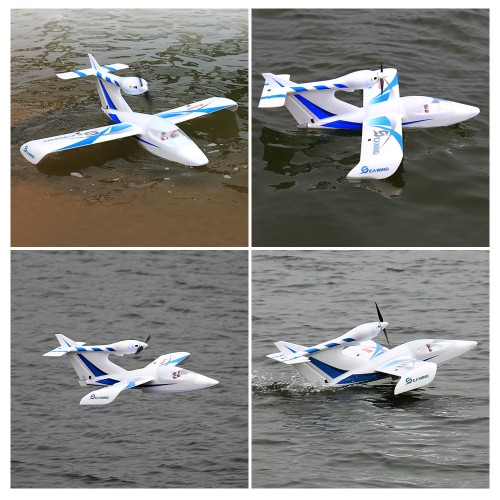 Dynam DY8968 Seawind Blue Amphibious 1220mm Wingspan EPO Fixed-wing Airplane PNP Version RC Seaplane (with ESC, Motor, Servo )