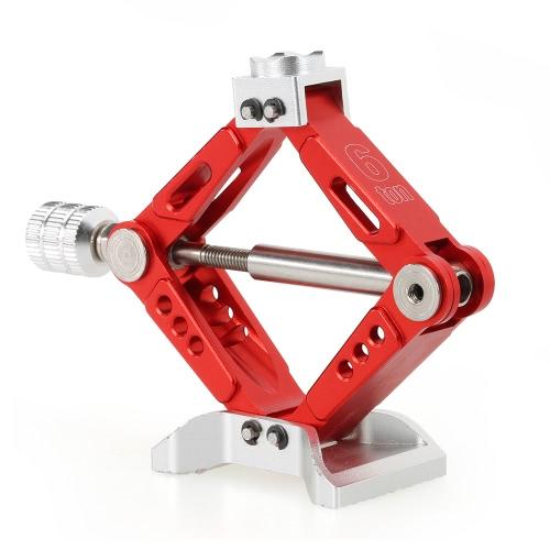 6 TON de aleación de aluminio ajustable Jack Stand para 1/10 RC4WD D90 SCX10 Rock Crawler RC Car