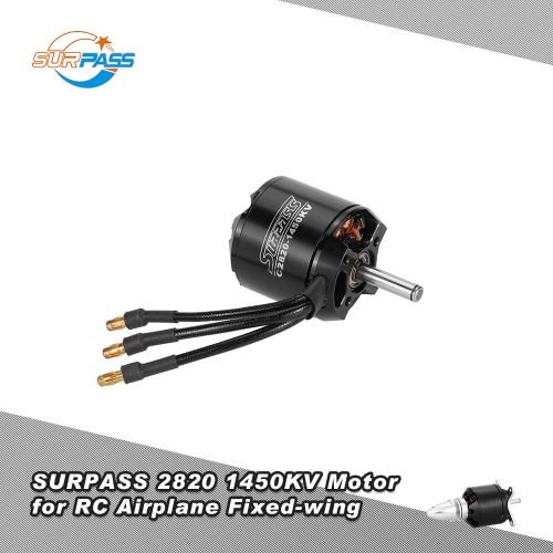 Original SURPASS High Performance 2820 1450KV 14 Poles Brushless Motor for RC Airplane Fixed-wing