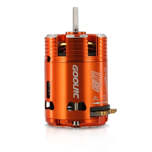 GoolRC 540 10.5T Modificado 3450KV Sensored Brushless Timing Motor Ajustable para 1/10 RC Car