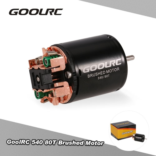 GoolRC 540 80T Brushed Motor for 1/10 Off-Road Rock Crawler Climbing RC Car