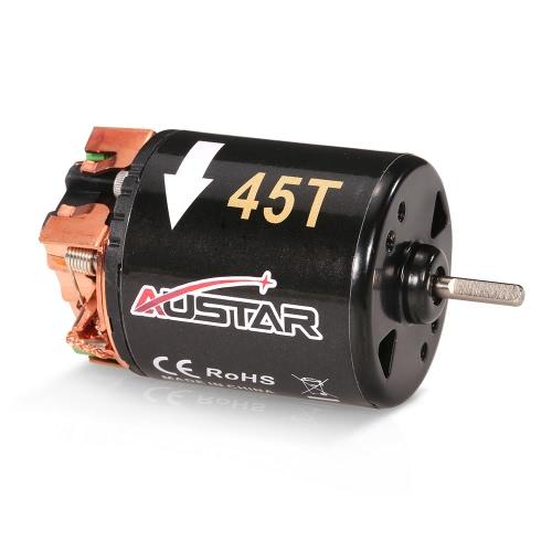 AUSTAR 540 45T Motor cepillado para 1/10 Axial SCX10 RC4WD D90 RC Coche de escalada RC
