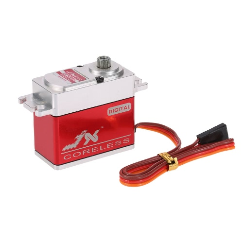 JX PDI-7216MG 16KG Metal Gear Servo Standard Coreless Standard pour RC 550-700 Helicopter d'avion