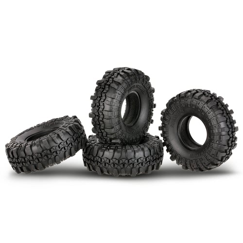 4Pcs AUSTAR AX-4020 1,9 дюйма 110 мм 1/10 Rock Crawler Шины для D90 SCX10 AXIAL RC4WD TF2 RC Car