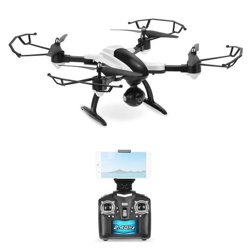 SY X33C-1 2.4G 4CH 6-axis Gyro 2.0MP Câmera Wifi FPV Folding Drone Altitude Hold G-sensor RC Quadcopter