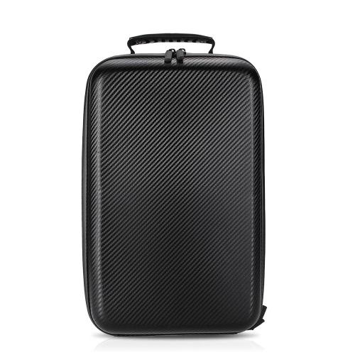 Hardshell Carbon Grain Backpack Przenośny Shoulderbag dla DJC Mavic Pro FPV RC Quadcopter
