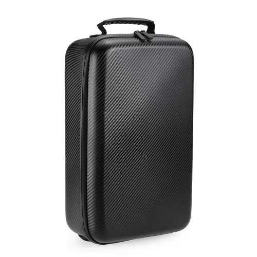 Hardshell Carbon Grain Backpack Portable Shoulderbag for DJI Mavic Pro FPV RC Quadcopter