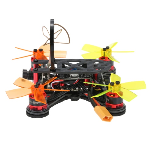 FX100 100mm Micro FPV Racing Drone 5.8G 40CH 800TVL D1104 Brushless Motor RC Quadcopter with F3 Flight Controller ARF от Tomtop.com INT