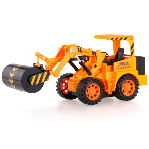 567TOYS 567-11 1/18 5CH RC Road Roller Engineering Camión RC Coche
