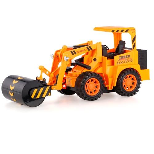 567TOYS 567-11 1/18 5CH RC Road Roller Engineering Camión RC Coche