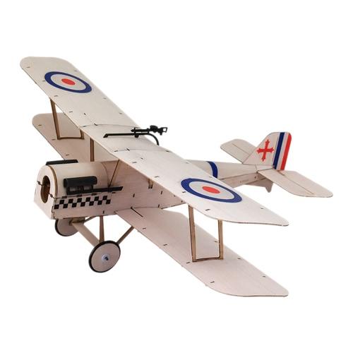 Royal Aircraft Factory SE5a Balsa Holz 378mm Spannweite Doppeldecker Warbird Flugzeug Modell Licht Holz Flugzeug Kit