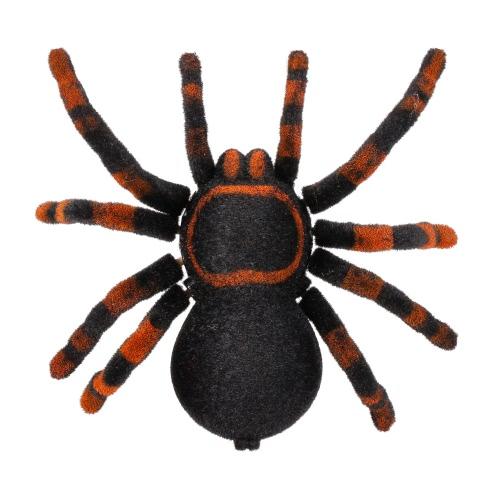 Radio Control RC Simulation Furry Tarantula Electronic Spider Toy Kids Gift Halloween Surprise