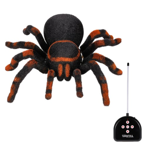 Радиоуправление RC Моделирование Furry Tarantula Electronic Spider Toy Kids Gift Halloween Surprise