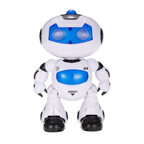 LEZHOU TOYS 99333 Remote Control Robot Walking Lighting Musical Electric Toy Children Kids Gift