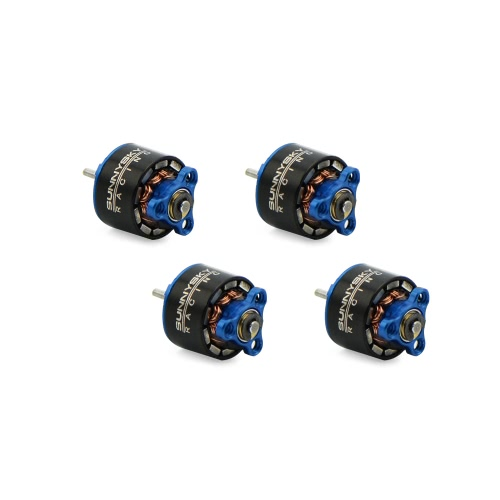 4pcs SUNNYSKY 0705 15000KV Brushless Motor for 60 70 80 90mm Micro FPV Racing Drone