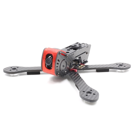 GEPRC GEP-AX5 215mm X-Type 5in Carbon Fiber FPV Racing Drone Quadcopter Frame Kit with XT60 Power Distributor LEDs