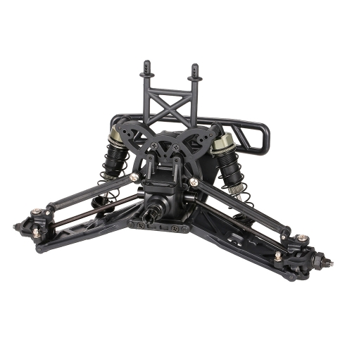 ZD Racing 9105 Thunder ZMT-10 4WD 1/10 Scale Electric Monster Truck Car Frame Suspension Tyre Kit